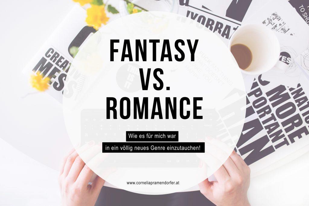 Fantasy vs Romance // Unterschiede und Gemeinsamkeiten dieser Genre